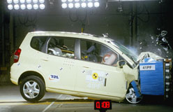 How important is safety to you? - Small cars - Jazz Crash Test