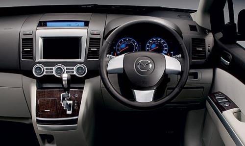 2007 Bangkok Internaional Motor Show theme - Mazda MPV interior