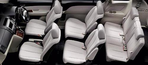 2007 Bangkok Internaional Motor Show theme - Mazda MPV 7-seater