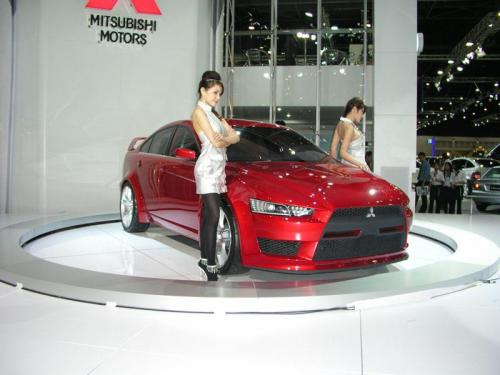 Thailand International Motor Expo 2006 Photos - Mitsubishi Evolution concept 2