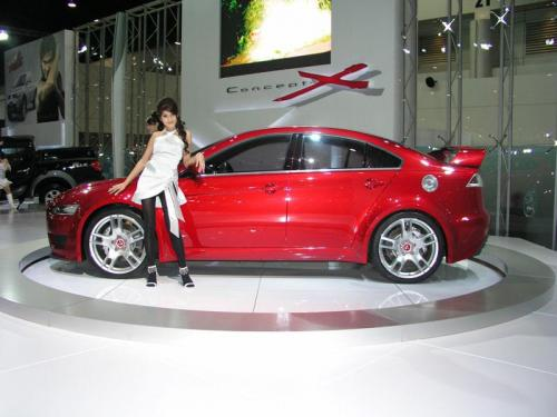 Thailand International Motor Expo 2006 Photos - Mitsubishi Evolution X concept