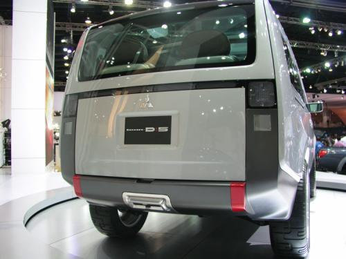 2007 Bangkok International Motor Show - Yawn (Mitsubishi concept D5 3)
