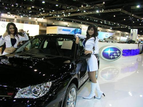 Thailand International Motor Expo 2006 Photos - Subaru