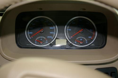 Tata Xenon - Interior 4 - dials