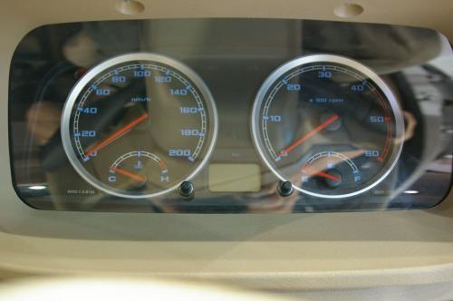 Tata Xenon - Interior 3 - dials