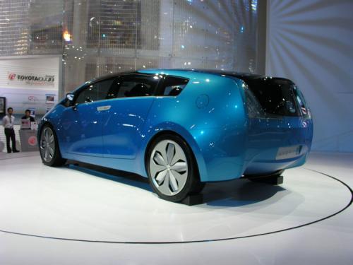 2007 Bangkok International Motor Show - (Yawn Toyota Hybrid Concept 1)