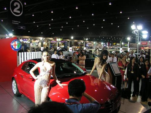Thailand International Motor Expo 2006 Photos - Alfa Romeo