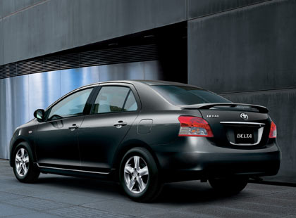 Toyota accepting bookings on new Vios - Back