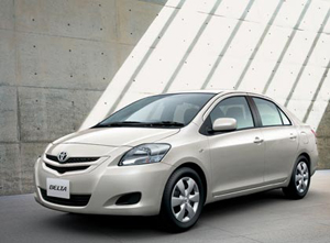 Toyota accepting bookings on new Vios - Front