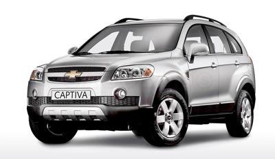 New Year Revelations - Forecast for 2007 - Chevrolet Captiva (Front)