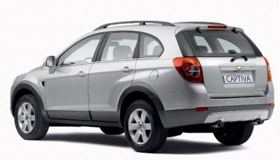 New Year Revelations - Forecast for 2007 - Chevrolet Captiva (Rear)