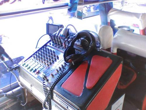 Typical Thai Bus! No.... really! - DJ Station