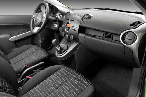 More 2008 Mazda2 images emerge - interior 1
