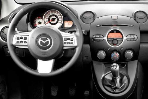 More 2008 Mazda2 images emerge - interior 2