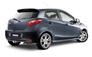 More 2008 Mazda2 images emerge - small