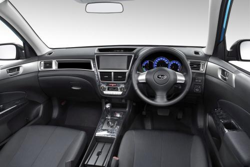 Subaru Exiga Interior 1