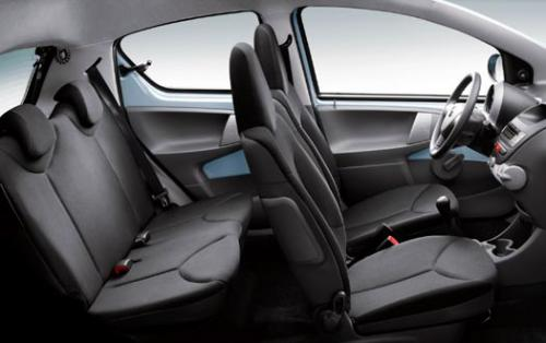 Why Toyota should bring Aygo to Thailand - Aygo Interior