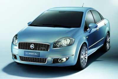 Fiat Linea Front