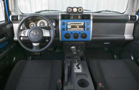 FJ Cruiser Interior
