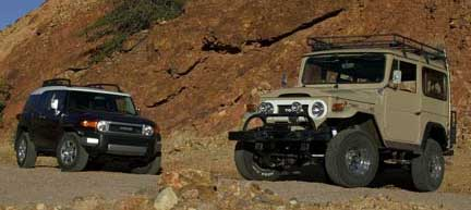 FJ Cruiser Old and New
