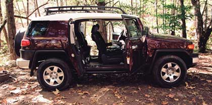FJ Cruiser open