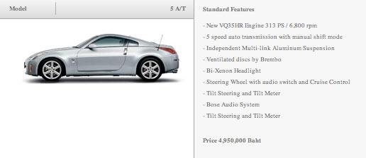 350Z price