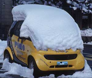 Snow on Smart