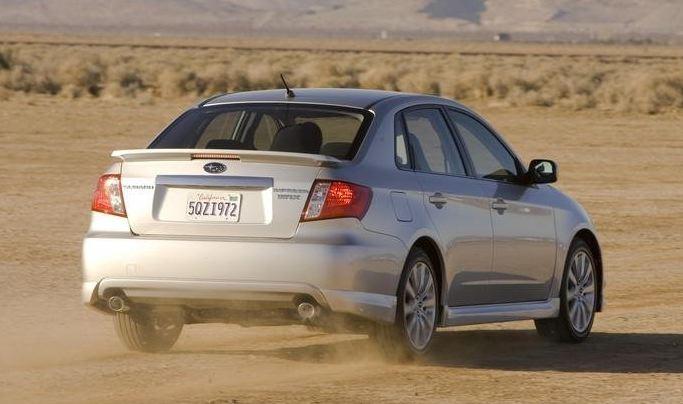Impreza Sedan Image
