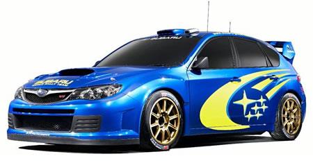 Subaru Impreza WRC Concept Image