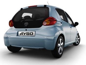Toyota Aygo, back